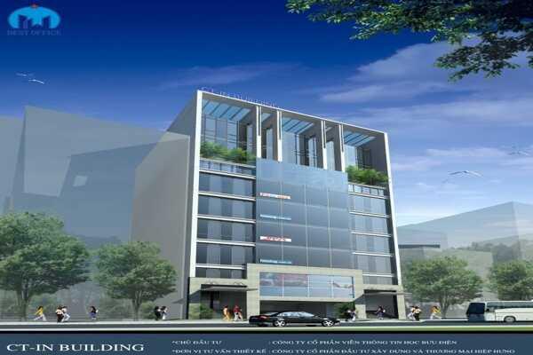 văn phòng cho thuê quận Tân Bình - cao ốc CT-IN