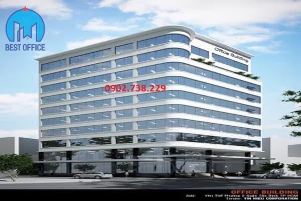 văn phòng cho thuê quận Tân Bình - cao ốc CT BUILDING